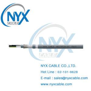 Multiflex CY, สายรางกระดูกงู มีชีลด์
