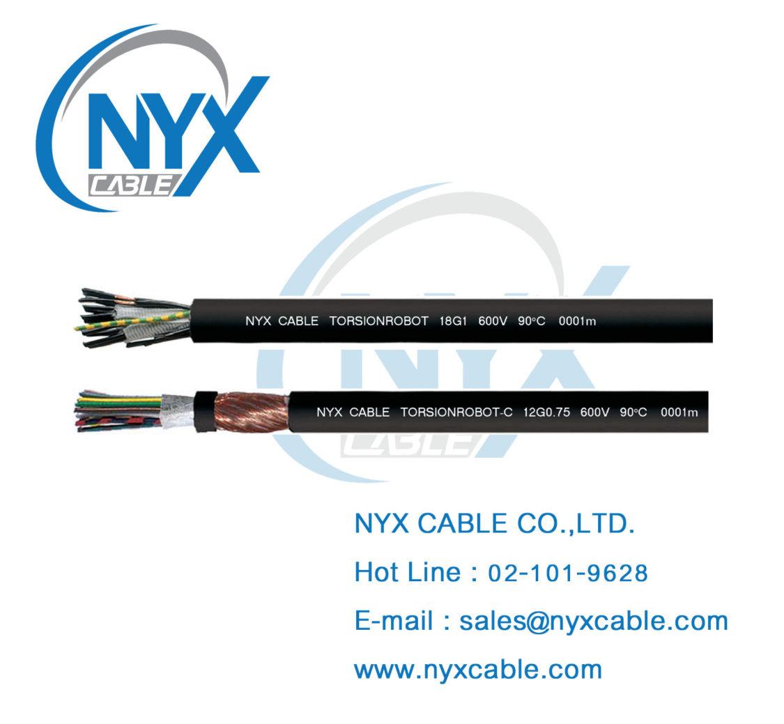 TORSION Cable, Robot Cable, Robot Welding Cable