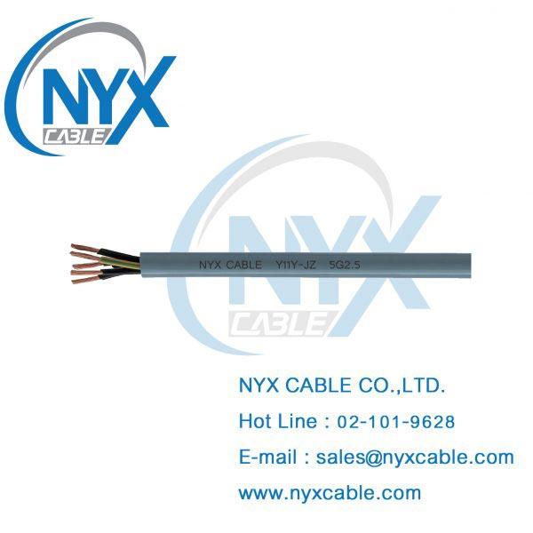Y11Y-JZ, สายไฟทนน้ำมัน, สายไฟกันน้ำมัน, สายไฟทนสารเคมี