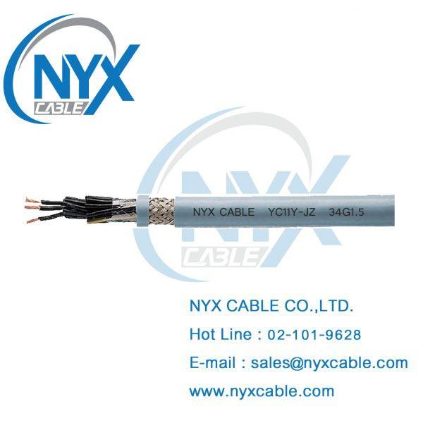YC11Y-JZ, สายไฟทนน้ำมัน, สายไฟกันน้ำมัน, สายไฟทนสารเคมี